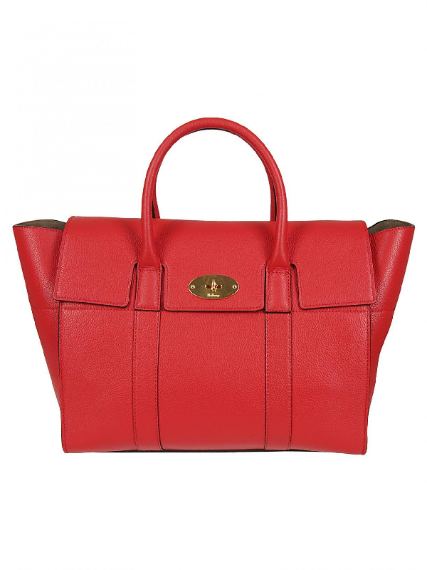 Mulberry Small Bayswater Bag In Red