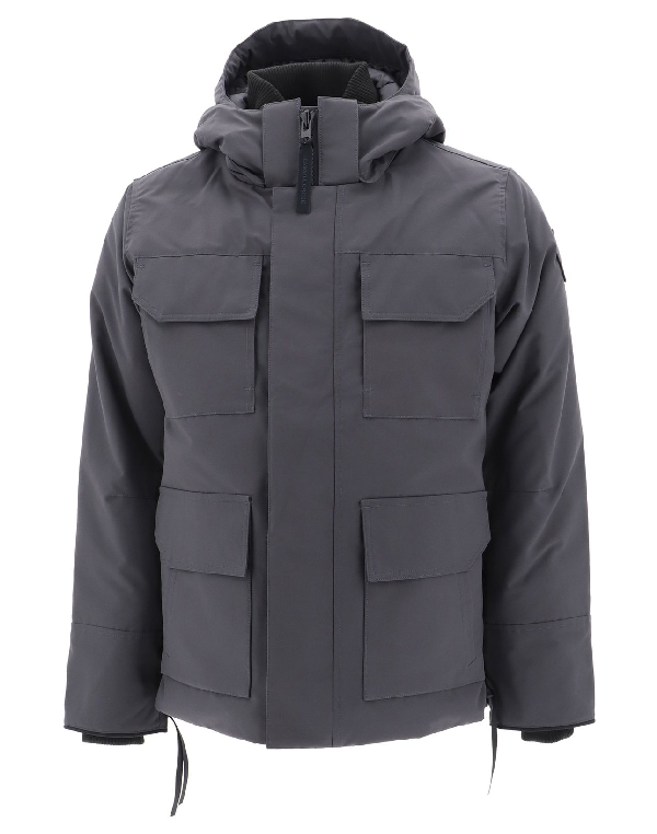Canada Goose Maitland Hooded Parka In Grey