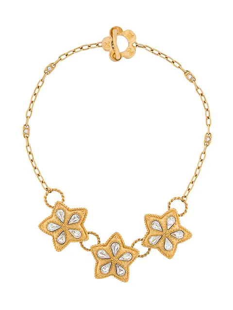 Kenzo Star Pendant Necklace In Gold