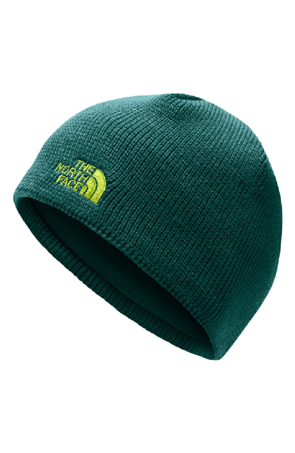 e5f2550cb8f72 The North Face Bones Fleece Lined Beanie In Botanical Garden Green ...