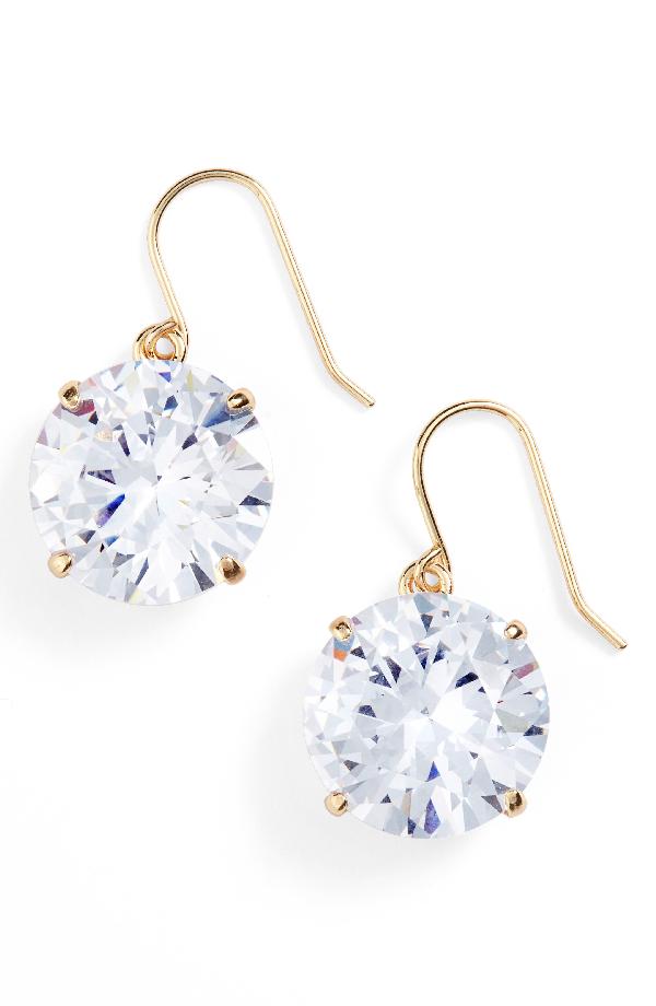 5f4158666ee4 Kate Spade 'Shine On' Drop Earrings In Clear | ModeSens