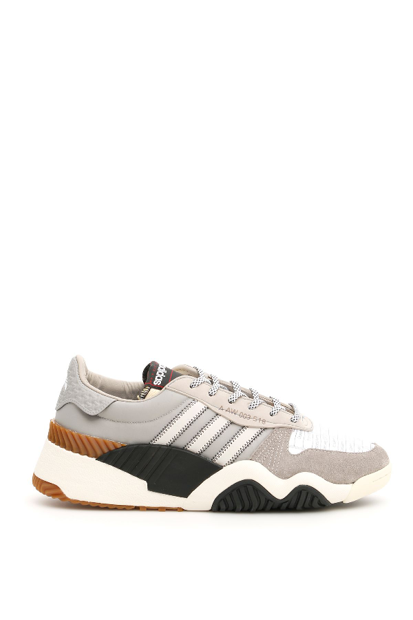 366b4f66e83a3 ADIDAS ORIGINALS BY ALEXANDER WANG. Aw Turnout Trainers in Lbrown White  Black