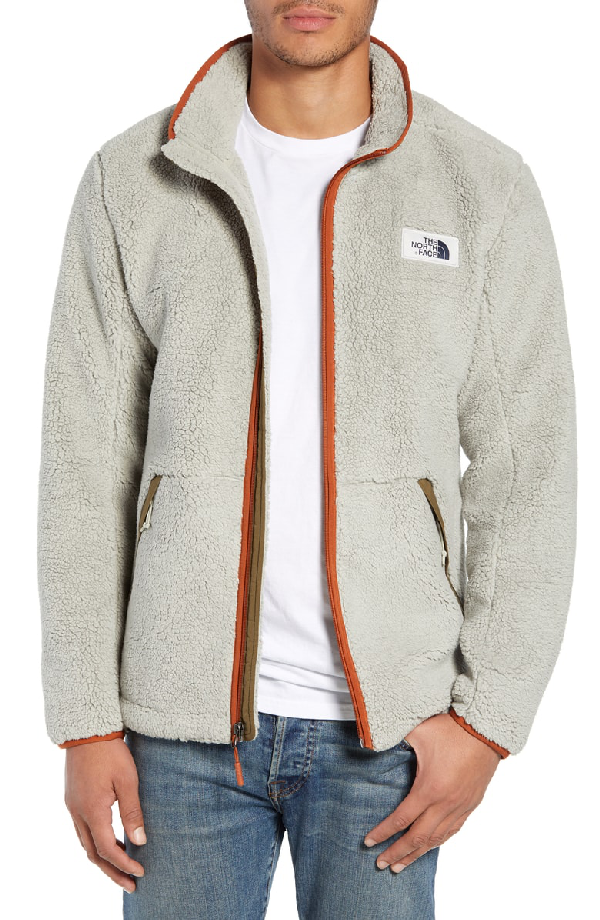 4114f5e17 Campshire Zip Fleece Jacket in Granite Bluff Tan/ Beech Green