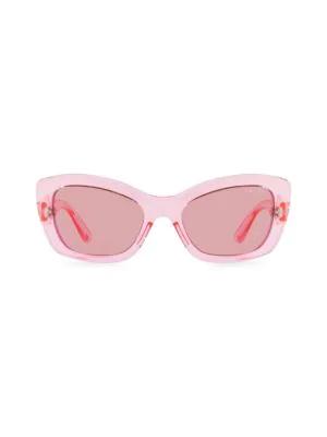 a4d77e2ff25 Prada Postcard 56Mm Cat Eye Sunglasses In Pink