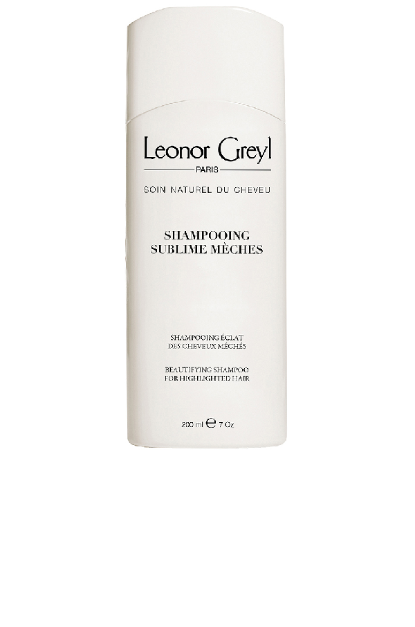 Leonor Greyl Paris Shampooing Sublime Meches Shampoo For Highlights In N,a