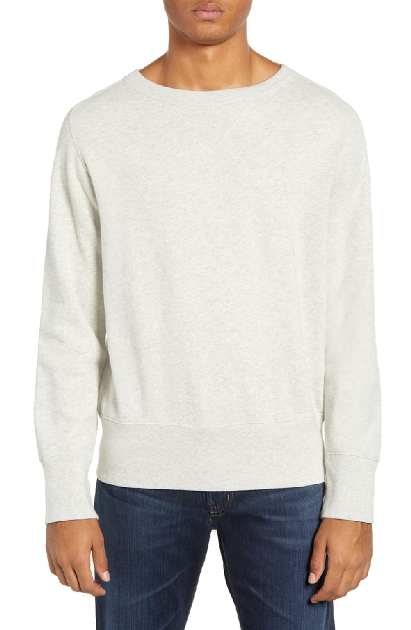 adca9b127 Levi s Vintage Clothing 1930S Bay Meadows Sweatshirt In Oatmeal ...