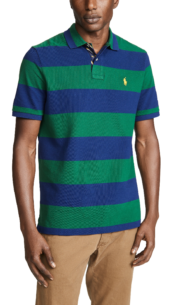 Forestholiday Fit Mesh Classic In Navy Polo Shirt New DH9IE2