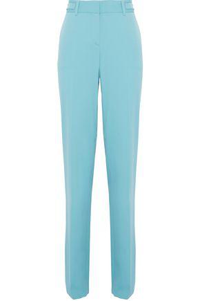 Roberto Cavalli Woman Wool-Blend Bootcut Pants Sky Blue