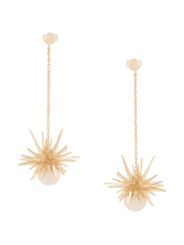 bd2123e90e9 Karen Walker Forbidden Drop Earrings - Gold | ModeSens
