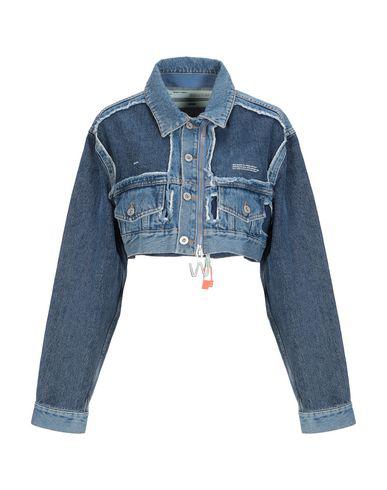 Off-White Denim Jacket In Blue