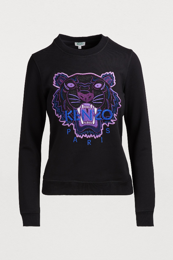 602871be Kenzo Tiger Sweatshirt 'Holiday Capsule' In Black | ModeSens