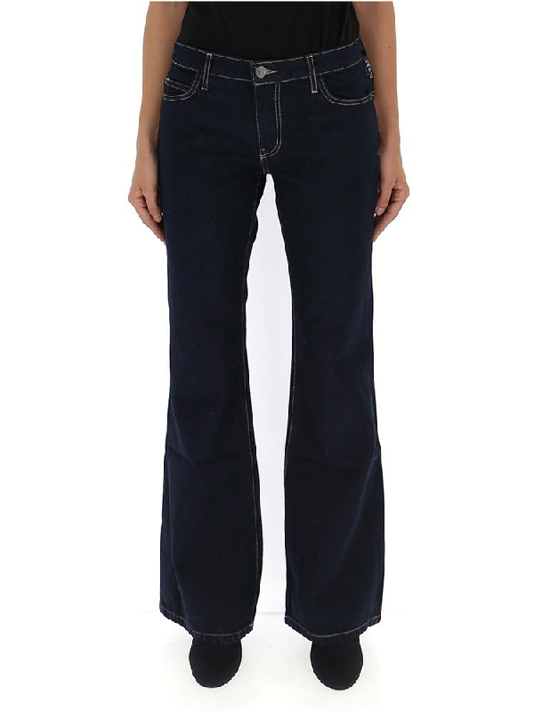 Current Elliott Current/elliott Flared Jeans In Blue