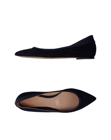 Gianvito Rossi Ballet Flats In Dark Blue