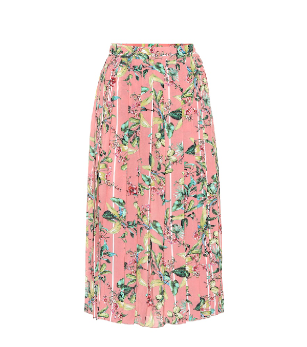 73a56c15af Vetements Printed Midi Skirt In Pink | ModeSens