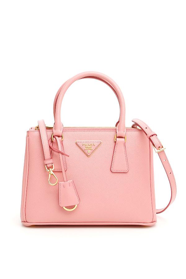 ee325980bbb Prada Saffiano Lux Galleria Bag In Petalo Rosa   ModeSens