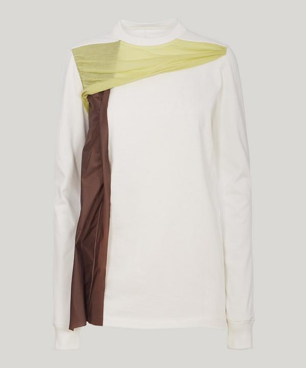 Rick Owens Baevuc Long Sleeve Combo T-shirt