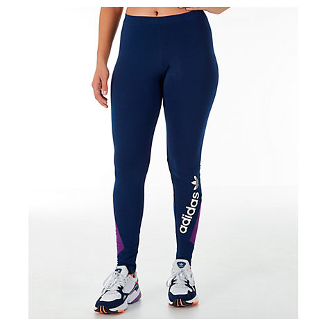 2902958bd8125 Adidas Originals Women's 90's Colorblock Leggings, Blue | ModeSens