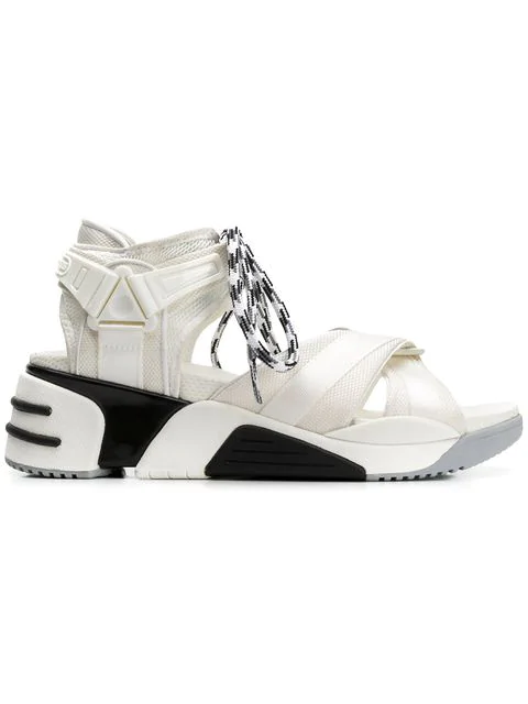 Marc Jacobs Somewhere Sport Sandals With Socks In White