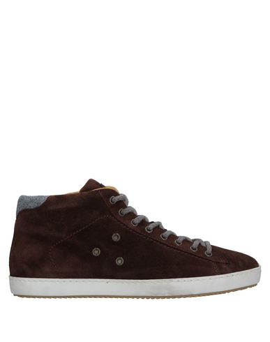 Eleventy Sneakers In Dark Brown