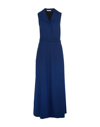 Carven Long Dresses In Blue