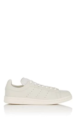 Adidas Originals Stan Smith Leather Sneakers In Neutral