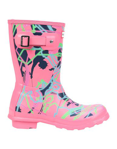 Hunter Ankle Boot In Pink