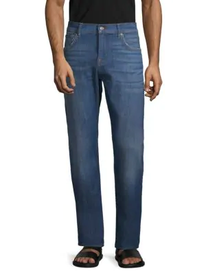 7 For All Mankind Classic Straight Jeans In Prevalence