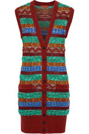 Missoni Woman Crochet-Knit Vest Multicolor