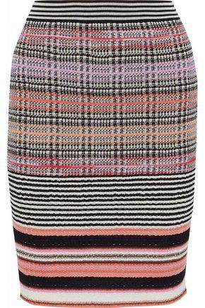 Missoni Woman Jacquard-Knit Wool-Blend Skirt Multicolor