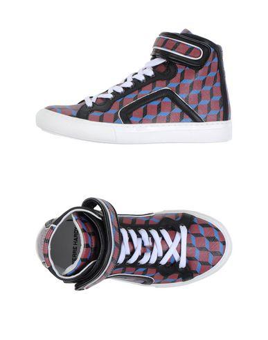 Pierre Hardy Sneakers In Maroon