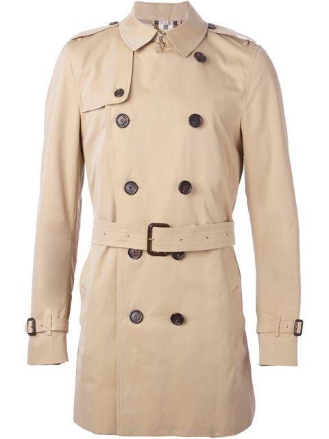 Burberry Kensington Mid-length Heritage Trench Coat In Neutrals