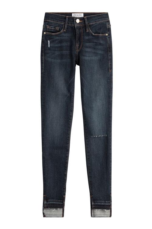 Frame Le Skinny De Jeanne Skinny Jeans In Blue
