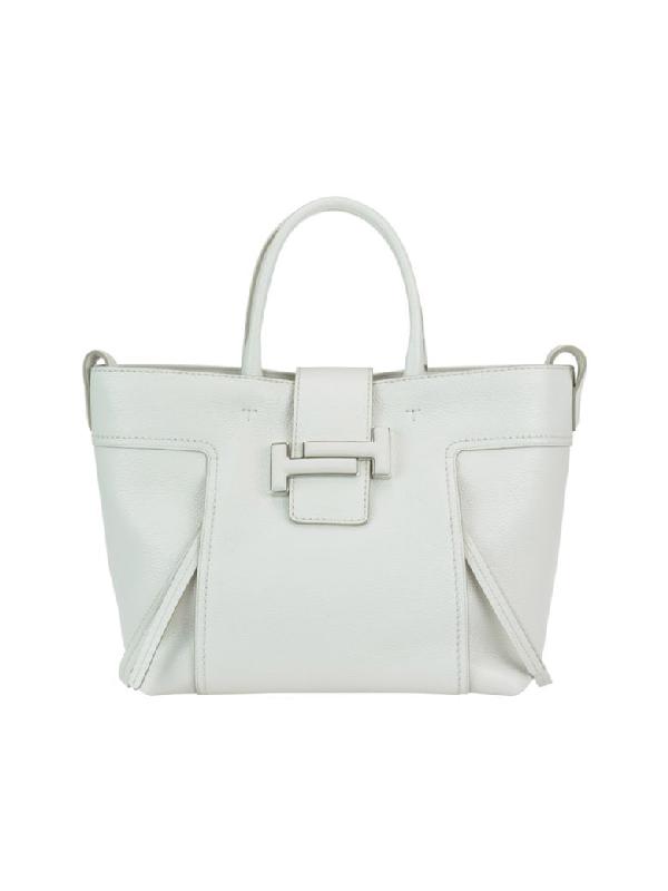 92200945378 Tod's Medium Double T Shopping Bag In Basic | ModeSens