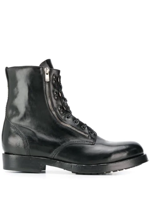 Officine Creative 'hive' SchnÜrstiefel In Black