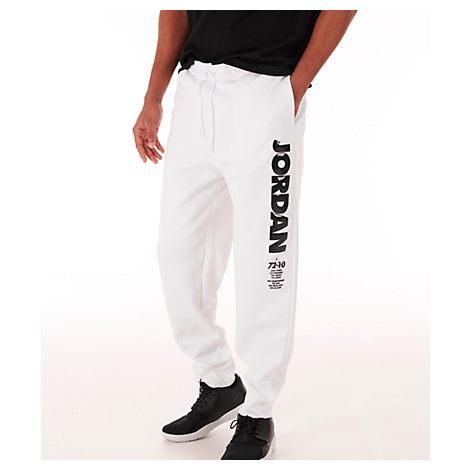 release date: cfee1 92269 Men's Jordan Sportswear Legacy Aj11 Fleece Pants, White
