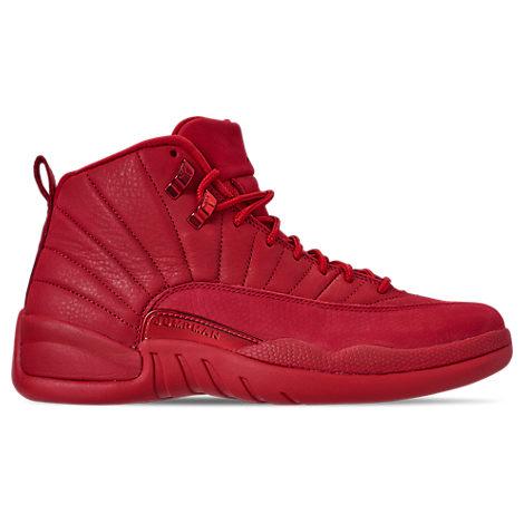 17b15c04fb9 Men's Air Jordan Retro 12 Basketball Shoes, Red