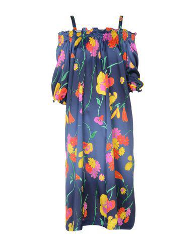 Rossella Jardini Midi Dress In Dark Blue