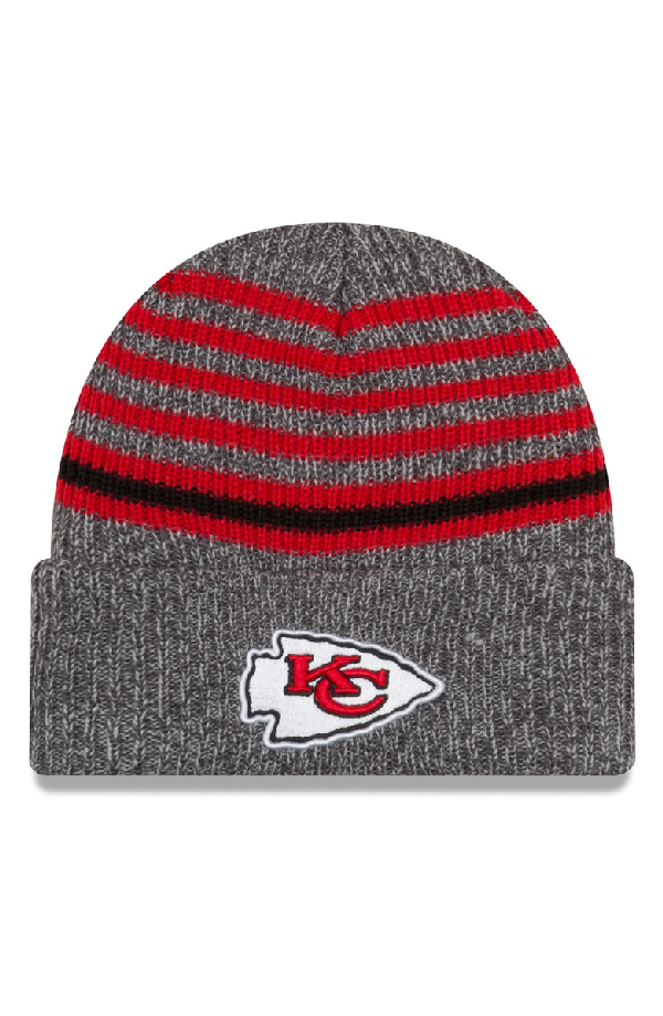 29e2994f0 Nfl Stripe Beanie - Red in Kansas City Chiefs