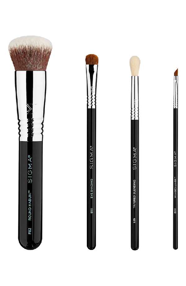 Sigma Beauty Best Of Sigma Beauty Brush Kit 122 Value: Sigma Beauty Sigma Snap A Selfie Brush Set