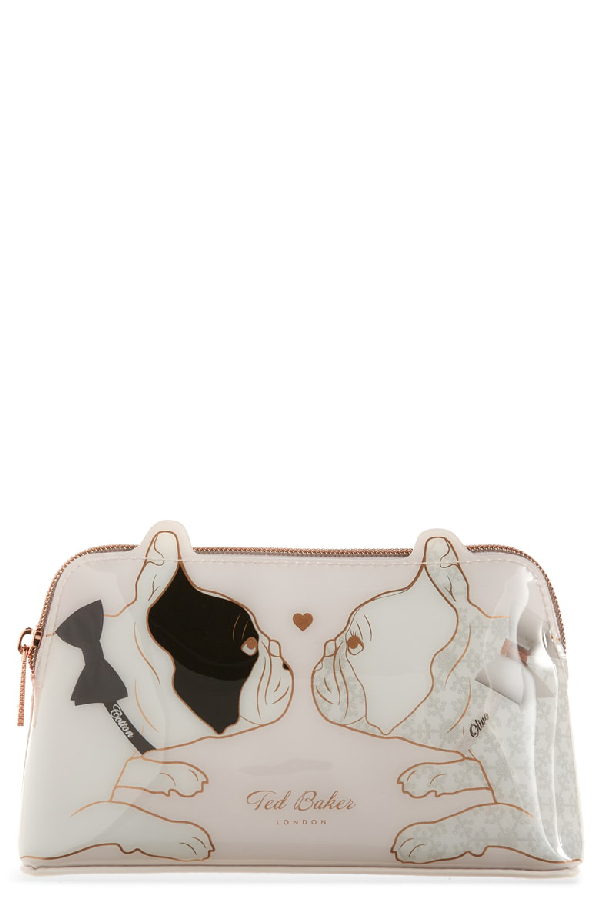 finest selection cd4bf 9a5fe Aria Dogs Cosmetics Case in Nude Pink