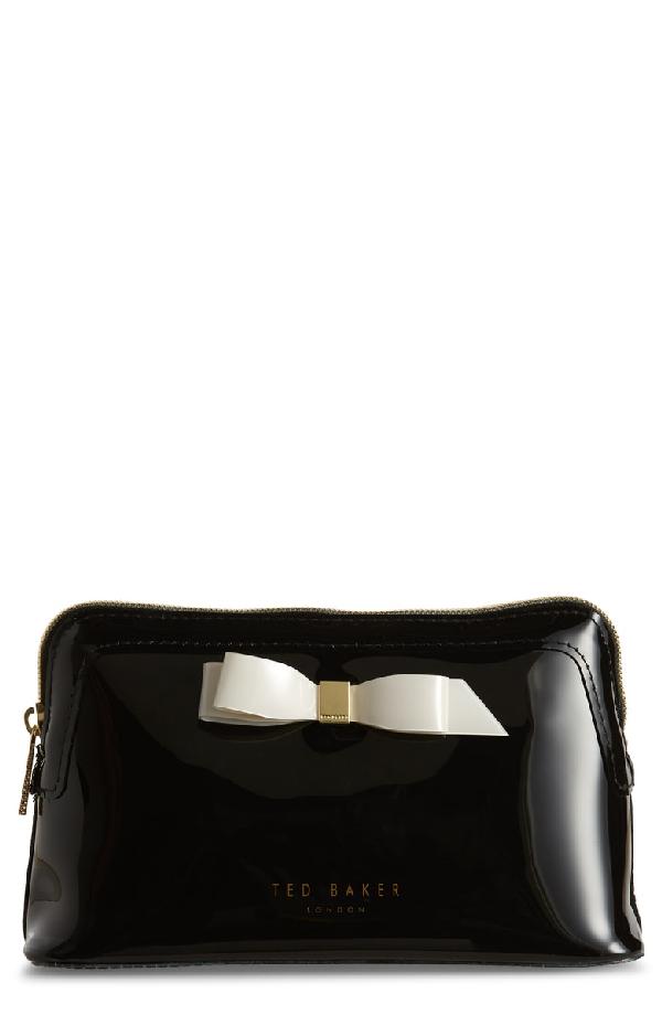 online store 8e77b 63540 Cahira Bow Cosmetics Case in Black