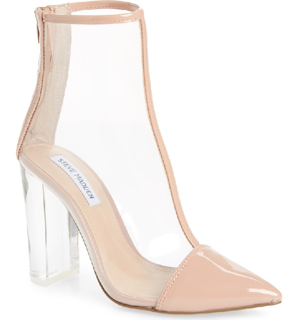 152fd4c65f2 Clancy Bootie in Blush Patent Leather