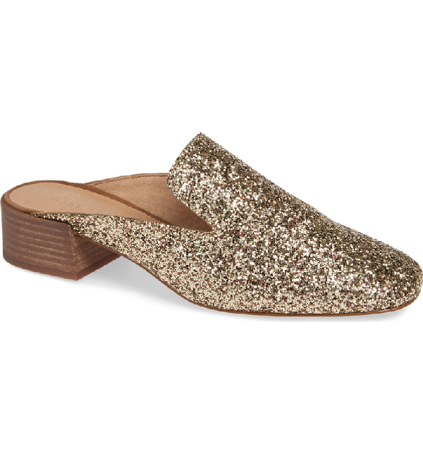 078deb7b580 Madewell The Willa Loafer Mule In Smoky Gold