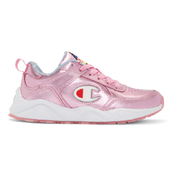 45cb8f1d69b Champion 93 Eighteen Metallic Sneaker In Pink