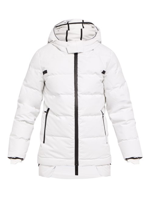 Templa 3L Puffer Jacket In White