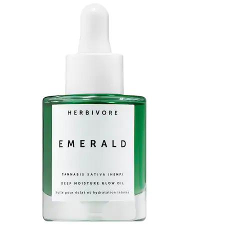Herbivore Emerald Hemp Seed Deep Moisture Glow Oil 1 oz/ 30 ml