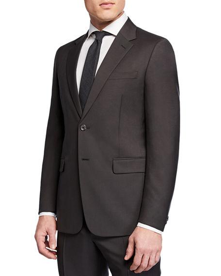 Prada Men's Mohair Tela Two-Piece Suit In Gray
