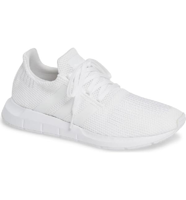 94c54f3d6 Adidas Originals Swift Run Sneaker In White  White  Black