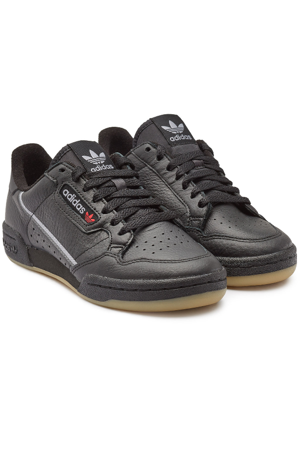 Continental 80 Leather Sneakers In Black