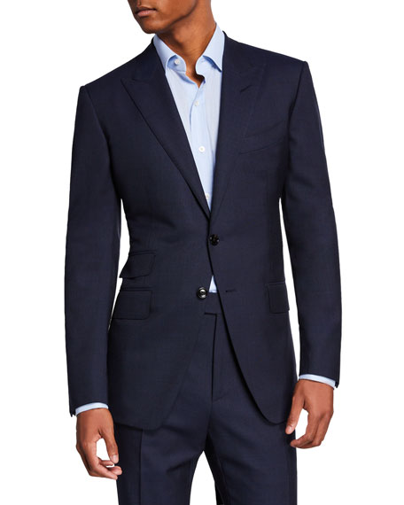 Tom Ford Men's O'Connor Peak-Lapel Two-Piece Suit In Navy